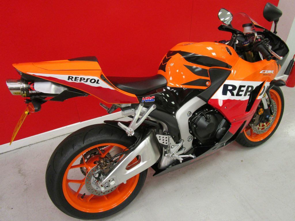 Used honda cbr600 available for sale orange 461 miles for Used certified honda